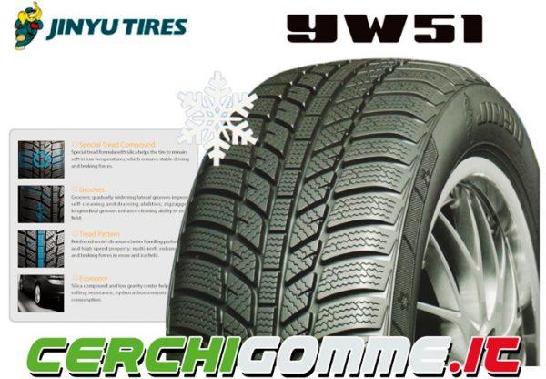 Jinyu YW51, la gomma invernale della Jinyu Tyres