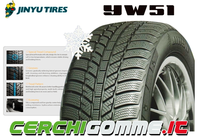 yw51 jinyu tires