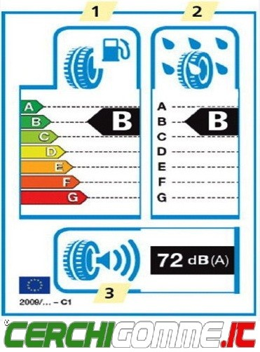 etichetta europea per gli pneumatici