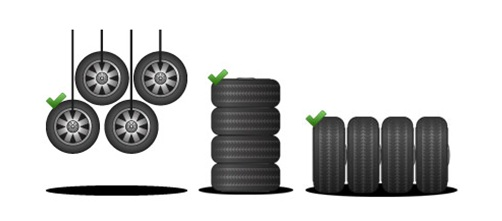 conservaer al meglio i pneumatici invernali