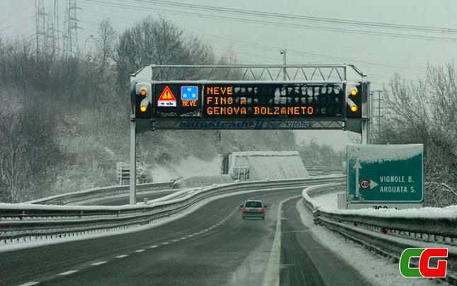 guida in inverno