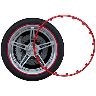 Adesivi per Cerchioni Rim Protector Guard Ringz Rimblades Anelli di Protezione per Cerchioni e Cerchioni in Alluminio Rimsavers