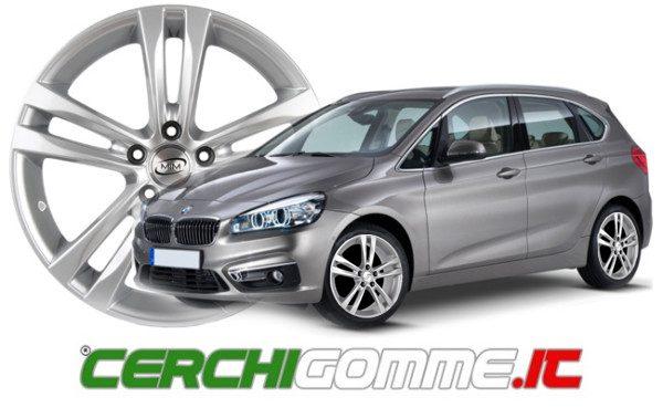 Cerchi e gomme per BMW Serie 2: il nuovissimo monovolume compatto