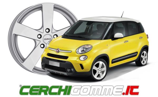 L'offerta cerchi e gomme per Fiat 500 L di Cerchigomme.it