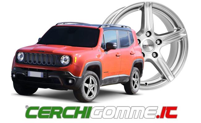 gomme e cerchi per jeep renegade
