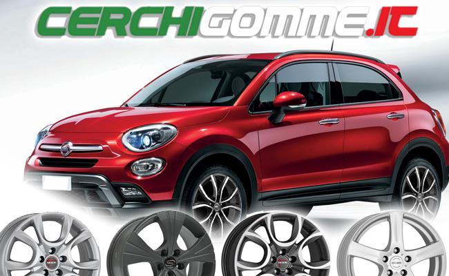 Cerchi e gomme per Fiat 500 X: il crossover Made in Italy