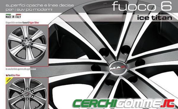 MAK Fuoco 6: il cerchio ideale per SUV, 4×4 e trasporto leggero