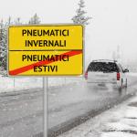 Quando scatta l'obbligo di pneumatici invernali nel 2019?