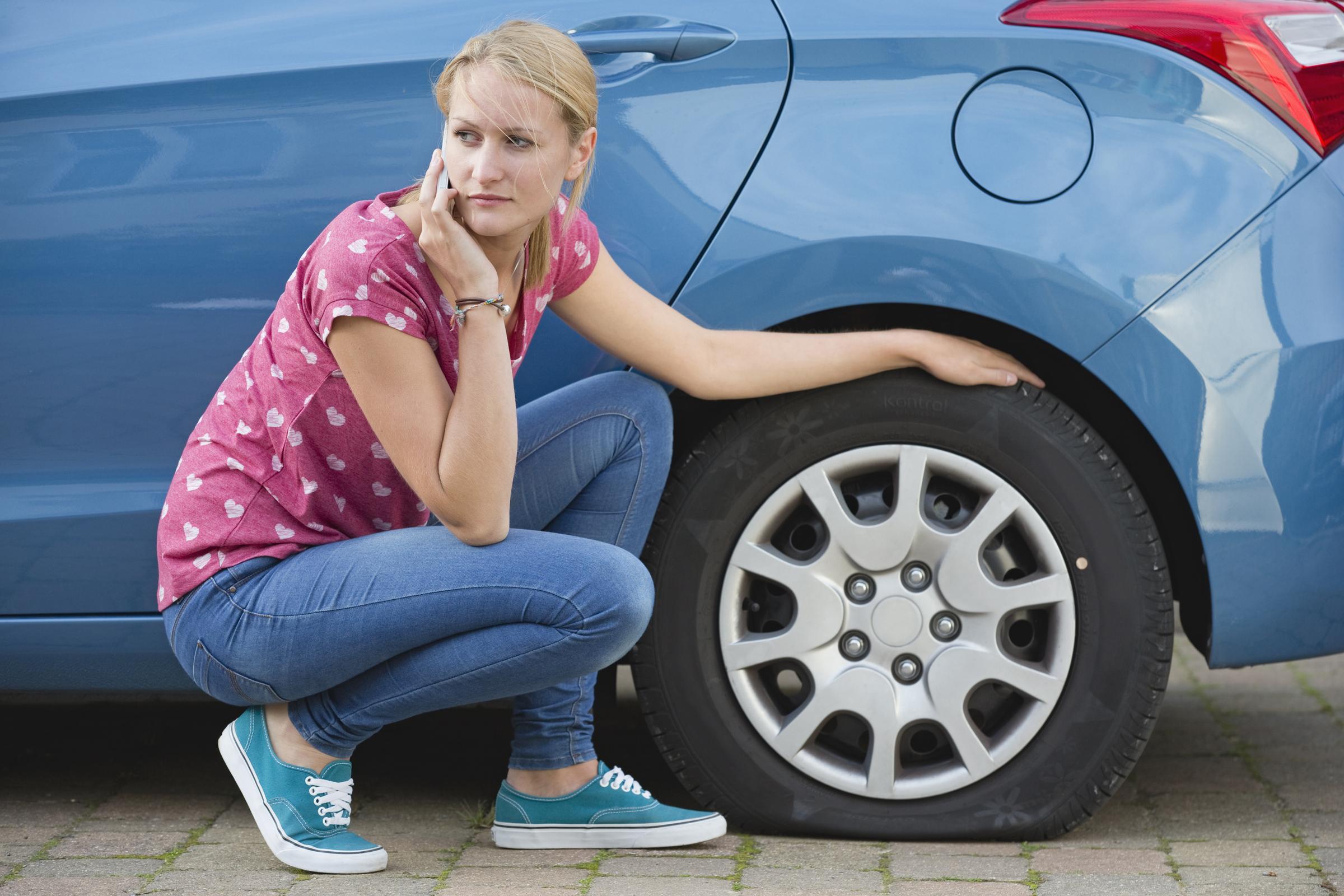 auto senza ruotino di scorta