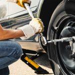 serraggio bulloni cambio pneumatico